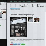Website for Tea Room in Paisley
