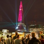 The Shard Building opening show